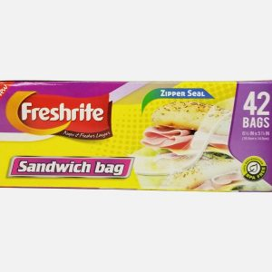 42CT SANDWICH BAGS ZIPPER SEAL – 24
