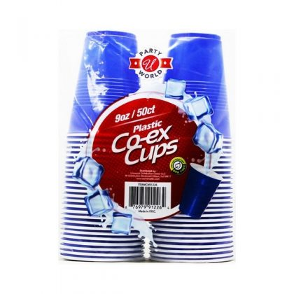 9OZ 50PCS BLUE...